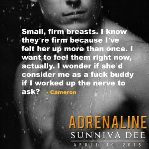 Firm breasts Adrenaline teaser